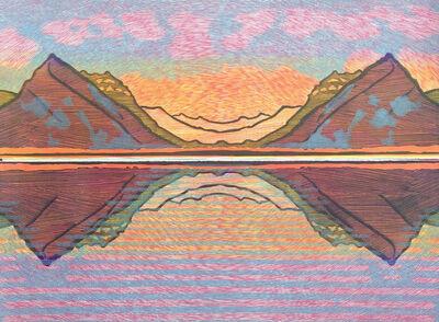 Lucinda Tanner, 'Hodler Mirror II', 2018