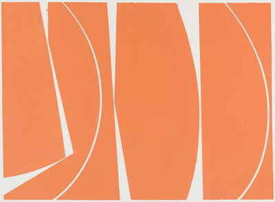 Joanne Freeman, 'Covers 40 Orange', 2017