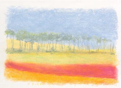 Wolf Kahn, 'Red Earth', 2014