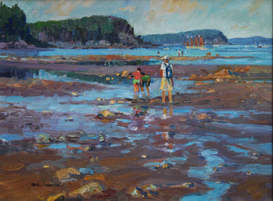 Michael Graves, 'Strolling on the Bar (Acadia)', 2019