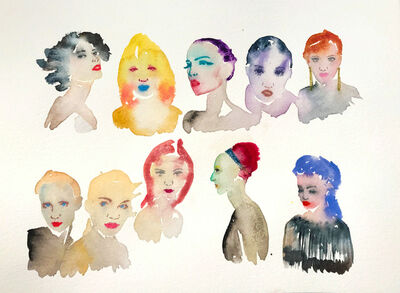 Fahren Feingold, 'FACE THE DAY', 2015