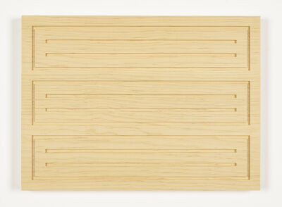Donald Judd, '14/91, Untitled', 1991