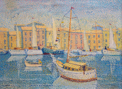 Yvonne Canu, 'Régates à Saint-Tropez', 1940 -1980