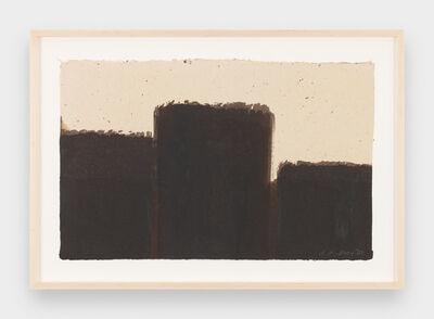 Yun Hyong-keun, 'Burnt Umber & Ultramarine', 1992