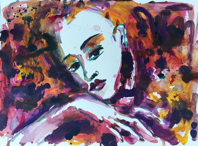 Norma de Saint Picman, 'Intimate diary series, Je ne the crois plus jamais', 2015