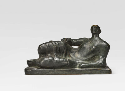 Henry Moore, 'Maquette for Reclining Figure', 1945