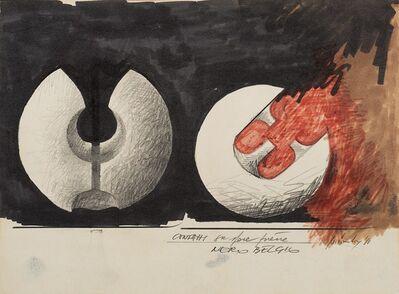 Giò Pomodoro, 'Bozzetti per scultura', 1965-68