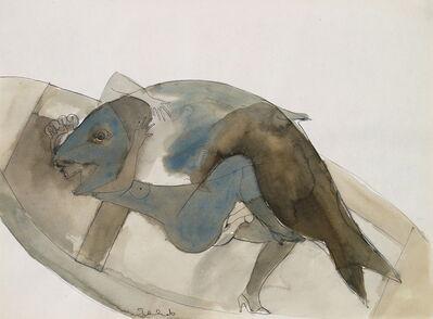 Francisco Toledo, 'Pescado en un Barco (Fish in a boat)', ca. 1977