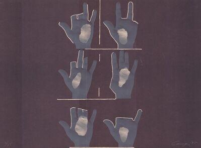 Rafael Canogar, 'Composition With Hands (Komposition mit Händen)', 1970-1980