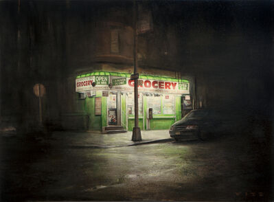 Dan Witz, 'La Minita D'Oro (small)', 2013