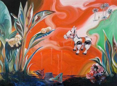 K Blick, 'Orange Blossom', 2015