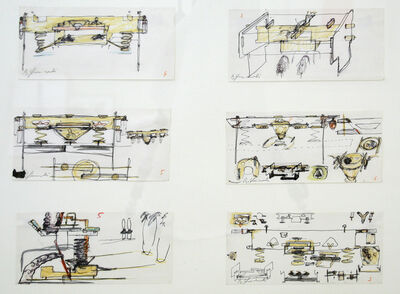 Bruno Gironcoli, 'Untitled', 1980ies