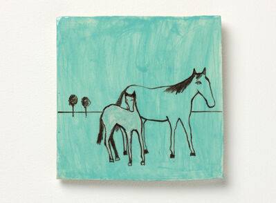 Noel McKenna, 'Mare with foal 2', 2016