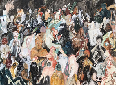 Michelle Nguyen, 'Apparitions in a Crowd', 2014