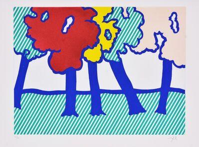Roy Lichtenstein, 'Illustration for 'Or Automnal: Arrière-Saison en Nouvelle Angleterre', from La Nouvelle Chute de l'Amérique', 1992