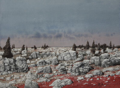 Cheng Liu 陳流, '石林心景Stone Forest - Inner Vision', 2015