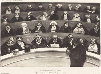 Honoré Daumier, 'Le Ventre Législatif (The Legislative Belly)', 1834