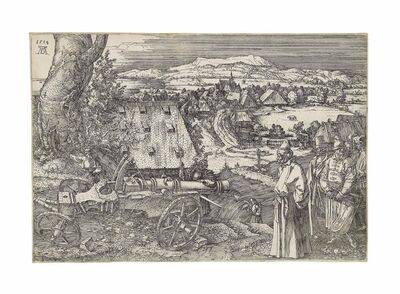 Albrecht Dürer, 'The Landscape with the Cannon (B. 99; M., Holl. 96; S.M.S. 85)', 1518