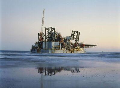 Mitch Epstein, 'Ocean Warwick Oil Platform, Dauphin Island, Alabama', 2005