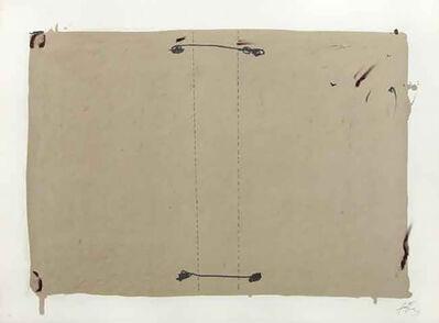 Antoni Tàpies, '3. Nocturno Matinal 2', 1970