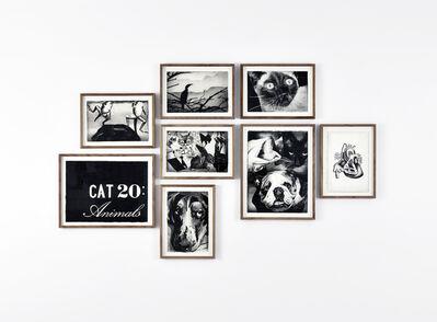 Marcel van Eeden, '(CAT 20 : Animals)', 2014