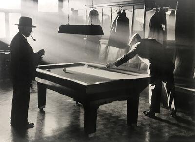 Edouard Boubat, 'Billard à Anvers (Anvers, Belgique)', 1960