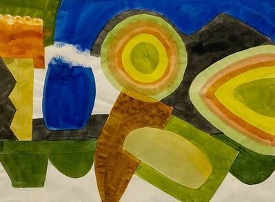William Thomas Lumpkins, 'Untitled (Abstraction)', 1968