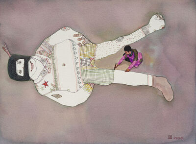 Zhou Jinhua 周金华, 'Painted No.7', 2020