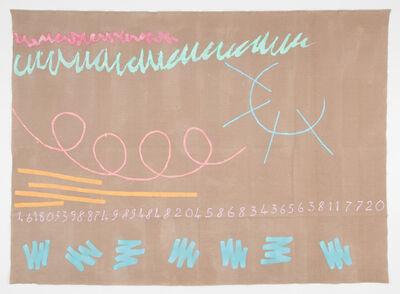 Giorgio Griffa, 'Canone aureo 720 (Joseph Beuys)', 2015