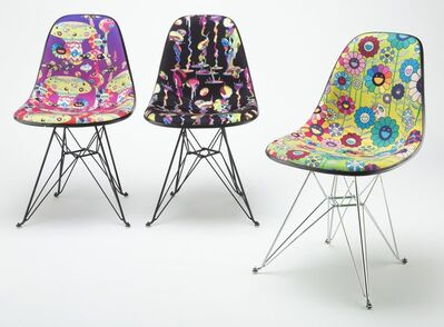 Takashi Murakami, 'Takashi Murakami Modernica Chair, set of three', 2019