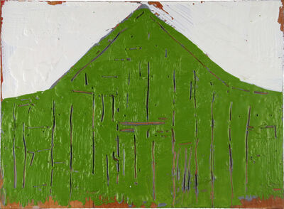 William Christenberry, 'Green Form', 2001