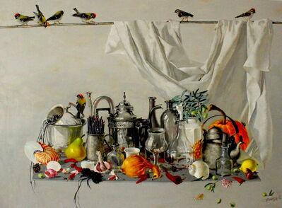 Tatyana Palchuk, 'Still Life with Pastel Pencils', 2017