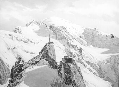 Hervé Heuzé, 'Mont-Blanc Aiguille du Midi', 2021