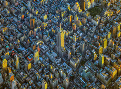 Jeffrey Milstein, 'NYC Horizon Empire State Building - NY Aerials', 2019