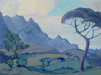 JH Pierneef, 'Stellenbosch ', ca. 1930