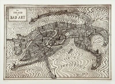 Grayson Perry, 'Island of Bad Art', 2013