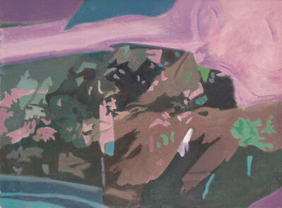 Ralph Wickiser, 'Apple Tree Net Pink', 1991