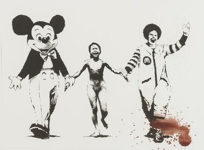 Banksy, 'Napalm (Can't Beat the Feeling)', 2006