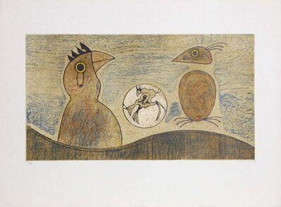 Max Ernst, 'Oiseaux souterraines', 1975