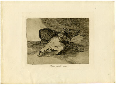 Francisco de Goya, 'Algun partido saca', 1863