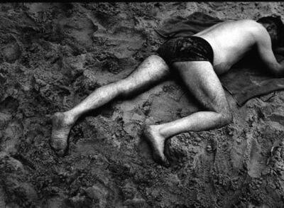 Ray K. Metzker, 'Sand Creature, Atlantic City (71 HL-24A)', 1971/1979