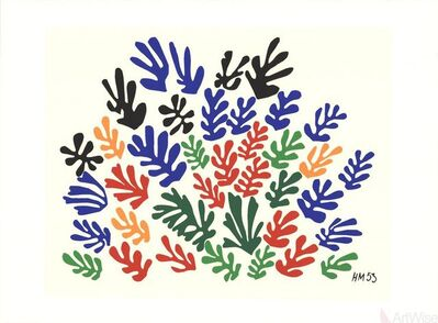 Henri Matisse, 'Spray of Leaves', 2010