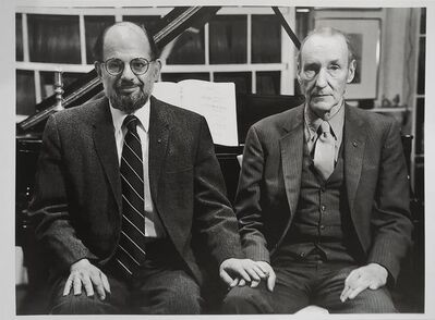 Hank O'Neal, 'Allen Ginsberg and William S. Burroughs', February 7-1984