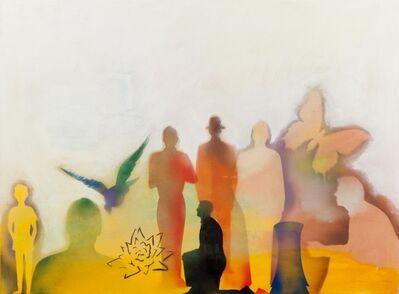 Renato Mambor, 'Pulizia della tela', 2005