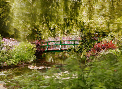 Michael Wesely, 'Giverny (12.08 - 15.33 Uhr, 25.6.2013)', 2013