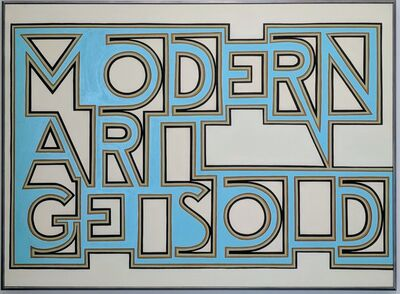 Archie Scott Gobber, 'Modern Art Gets Old', 2018