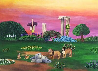 Julia Debasse, 'Garden of the Sphinxes (Tropical Thebes)', 2021