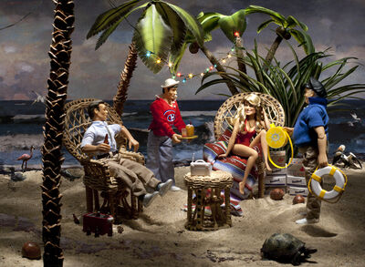 Diana Thorneycroft, 'On the Beach (at Gilligan's Island)', 2012
