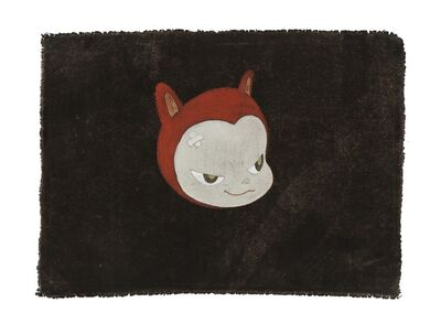 Yoshitomo Nara, 'Red Kitty', 1999