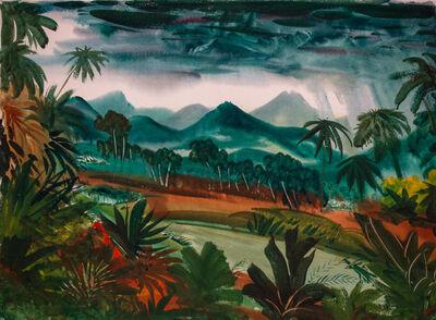 Paul Bough Travis, 'African Landscape', 1953